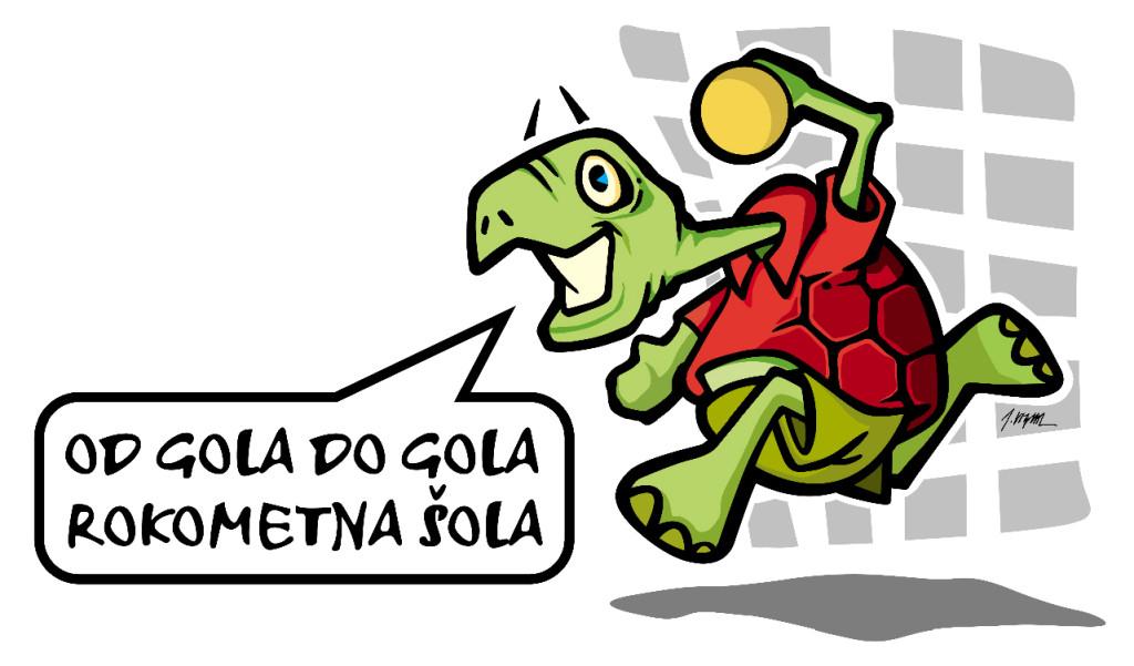 Logo Rokometna sola 2009 - zelvica